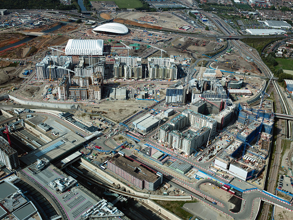 2012 Summer Olympics - London「Aerial view of the Olympic site, London, UK」:写真・画像(7)[壁紙.com]