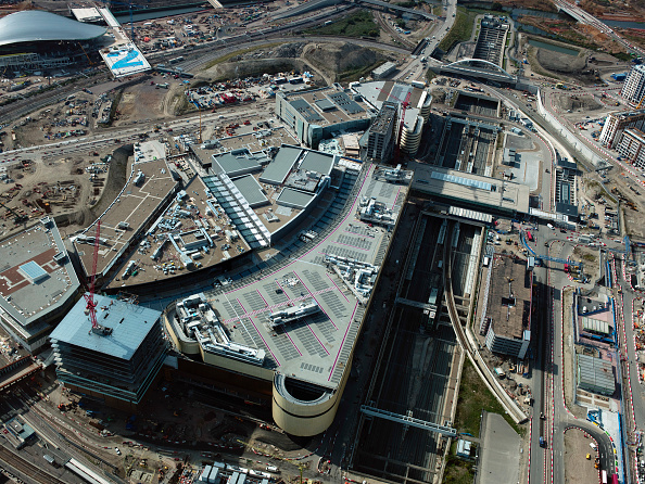 2012 Summer Olympics - London「Aerial view of the Olympic site, London, UK」:写真・画像(6)[壁紙.com]