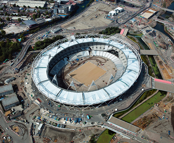 2012 Summer Olympics - London「Aerial view of the Olympic site, London, UK」:写真・画像(15)[壁紙.com]