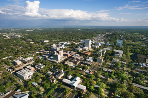 Tallahassee「Aerial view of Tallahassee, Florida」:スマホ壁紙(3)