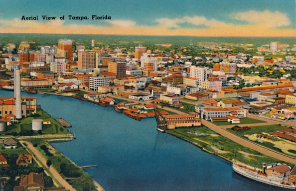 Physical Geography「Aerial View Of Tampa」:写真・画像(13)[壁紙.com]