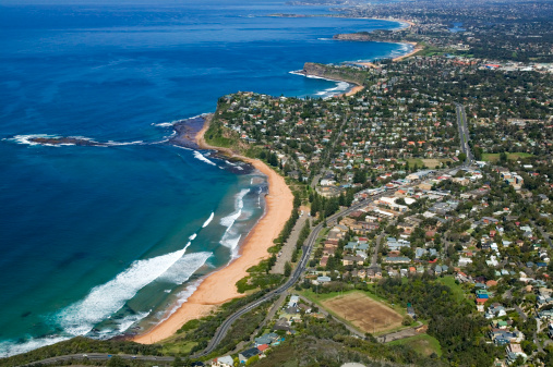 New South Wales「Aerial view of Newport, New South Wales, Australia」:スマホ壁紙(8)