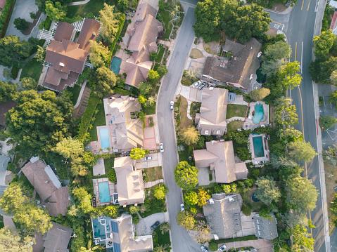 Bicycle Lane「Aerial View of Houses」:スマホ壁紙(10)