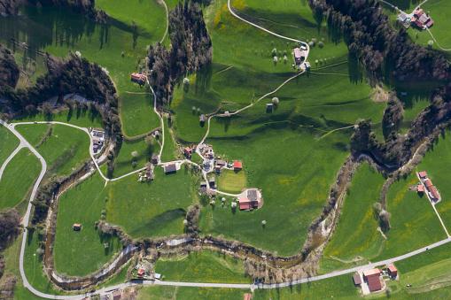 St Gallen Canton「Aerial view of Necker, Canton of St. Gallen, Switzerland」:スマホ壁紙(19)
