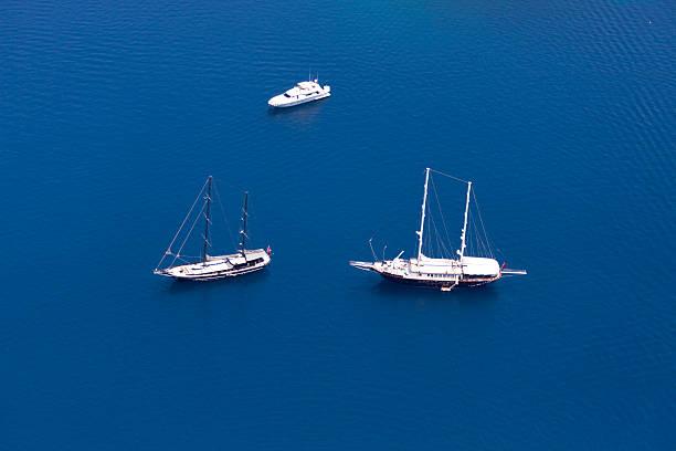 Aerial View of Luxury yachts:スマホ壁紙(壁紙.com)