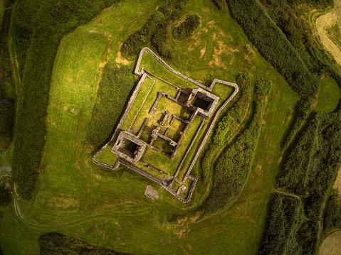 County Cork「Aerial view of James Fort, Kinsale, Cork, Ireland」:スマホ壁紙(3)