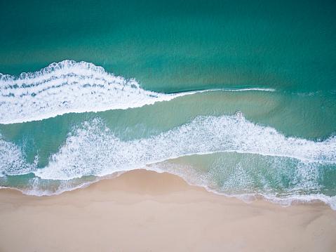 Seascape「Aerial view of a beach, Western Australia, Australia」:スマホ壁紙(13)