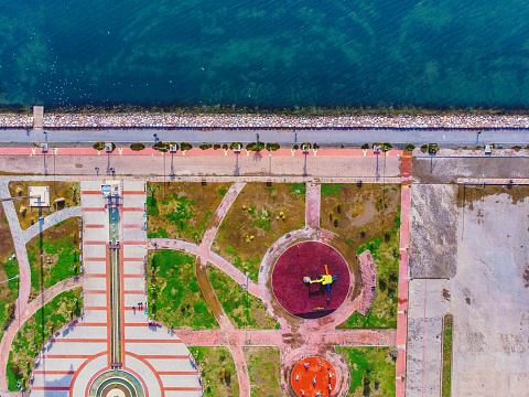 Boulevard「Aerial View of Bostanli, Izmir」:スマホ壁紙(4)