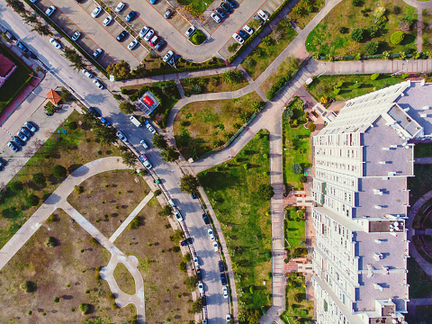 Boulevard「Aerial View of Bostanli, Izmir」:スマホ壁紙(7)