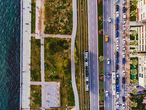 Boulevard「Aerial View of Bostanli, Izmir」:スマホ壁紙(16)