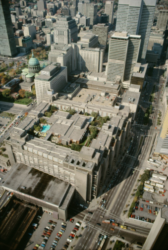 Boulevard「Aerial view of Montreal, Quebec, Canada」:スマホ壁紙(9)