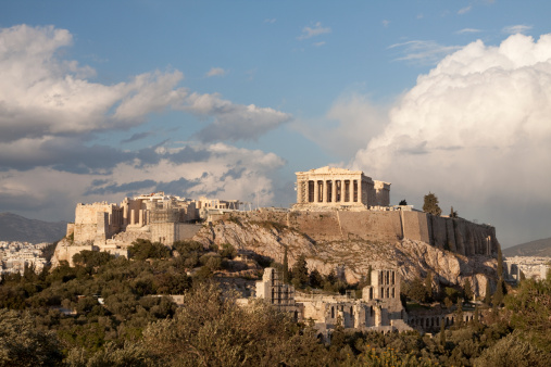 Restoring「Aerial view of the Acropolis in Athens」:スマホ壁紙(18)