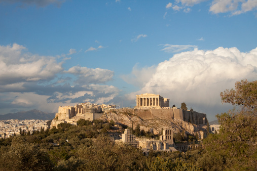 Restoring「Aerial view of the Acropolis in Athens」:スマホ壁紙(4)