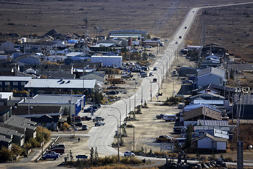 Boulevard「Aerial view of Town of Churchill」:スマホ壁紙(12)