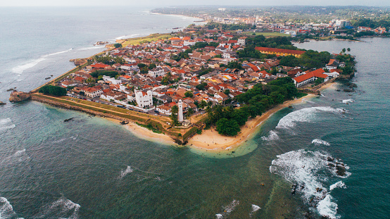 Sri Lanka「Aerial view of Galle Fort」:スマホ壁紙(6)