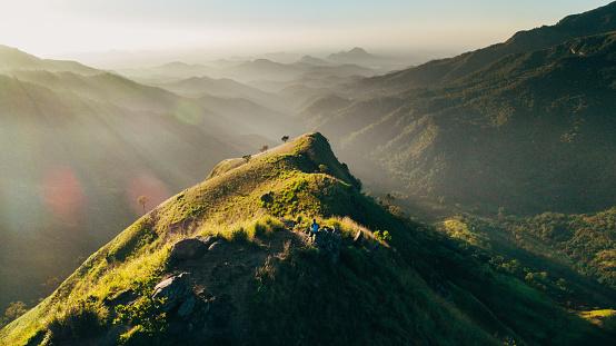 Sri Lanka「Aerial view Mountain Little Adam's Peak in Sri Lanka」:スマホ壁紙(17)