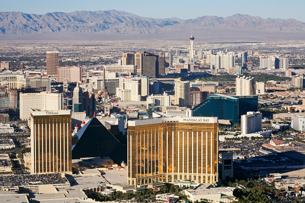 Mountain「Aerial View of Las Vegas, Nevada」:写真・画像(3)[壁紙.com]