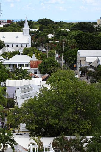 Methodist「Aerial view of town of Key West」:スマホ壁紙(17)