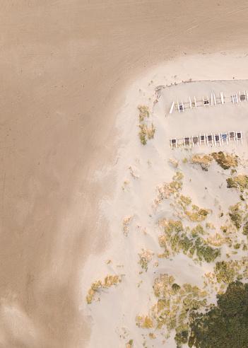 Ijmuiden「Aerial view of catamarans on the beach at sunset, IJmuiden, Holland」:スマホ壁紙(14)
