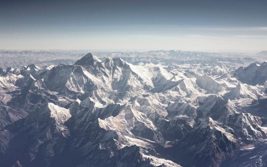 Himalayas「Aerial view of Himalayas」:スマホ壁紙(8)