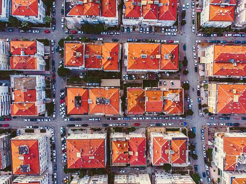 Boulevard「Aerial View of Karsiyaka - Izmir」:スマホ壁紙(2)