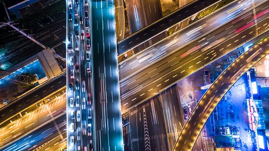 Elevated Road「aerial view of highway」:スマホ壁紙(5)