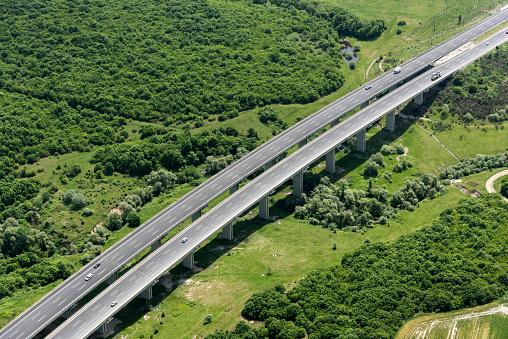 Elevated Road「Aerial View of Highway」:スマホ壁紙(16)