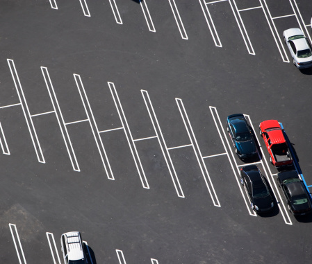 Aerial View「aerial view of parking lot, spaces」:スマホ壁紙(13)