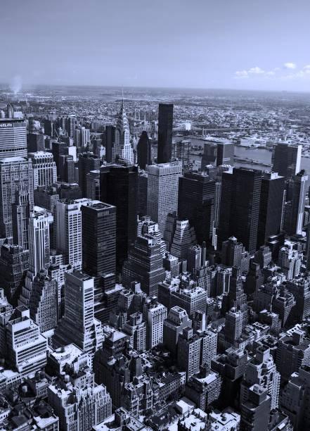 Aerial view of Manhattan New York NY:スマホ壁紙(壁紙.com)