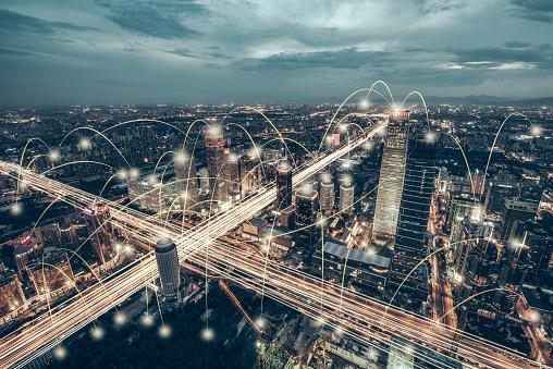Capital Cities「Aerial View of City Network of Beijing Skyline」:スマホ壁紙(4)