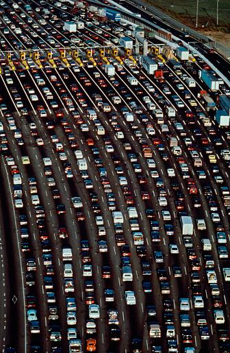 1990-1999「Aerial View of a Traffic Jam」:スマホ壁紙(11)