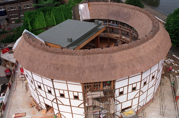 High Angle View「Aerial View Of The Globe Theatre」:写真・画像(17)[壁紙.com]