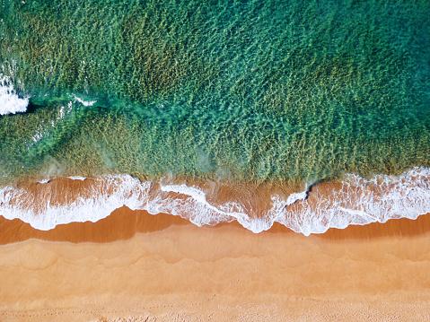1980-1989「aerial view of the australian bondi beach」:スマホ壁紙(6)
