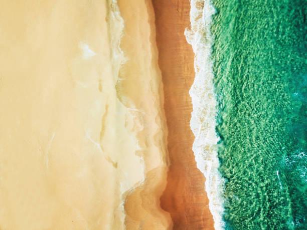オーストラリアのボンダイビーチの航空写真:スマホ壁紙(壁紙.com)