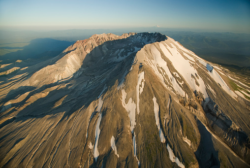 Active Volcano「Aerial view of crater, Mt. St. Helens, Washington」:スマホ壁紙(18)