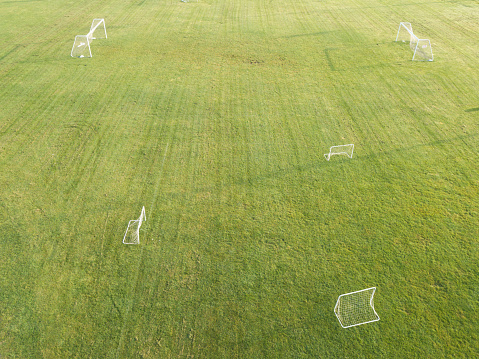New Jersey「Aerial view of different goals for sport and practice」:スマホ壁紙(3)