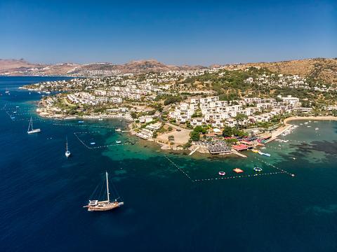 Aegean Sea「Aerial view of Bitez in Bodrum」:スマホ壁紙(17)