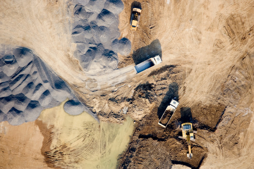 Heap「Aerial view of a construction site」:スマホ壁紙(12)