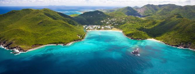 西インド諸島 サン・マルタンの...