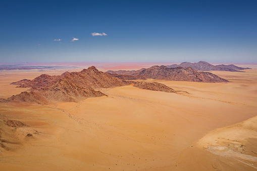 Arid Climate「Aerial View Nambia Sea of Sand Dunes Sossusvlei」:スマホ壁紙(15)