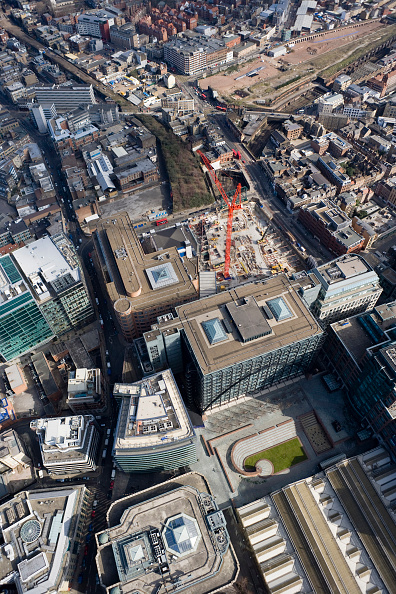 Finance and Economy「Aerial View of London Construction Site - 201 Bishopsgate and the Broadgate Tower in 2006」:写真・画像(17)[壁紙.com]