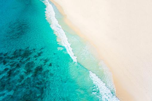 夏「撮砂浜ビーチと熱帯の海」:スマホ壁紙(4)