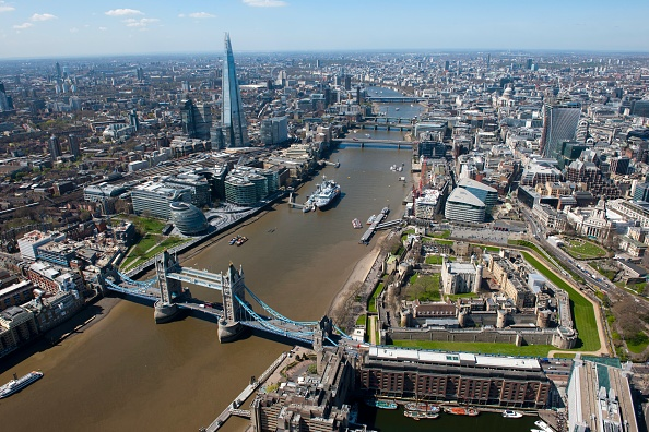 Cityscape「Aerial View Of London」:写真・画像(10)[壁紙.com]
