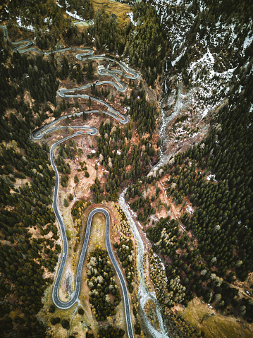 Graubunden Canton「aerial view of the Maloja pass in switzerland」:スマホ壁紙(3)