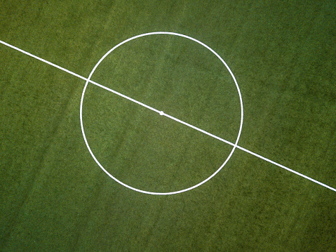 Stadium「Aerial view of a soccer field」:スマホ壁紙(13)