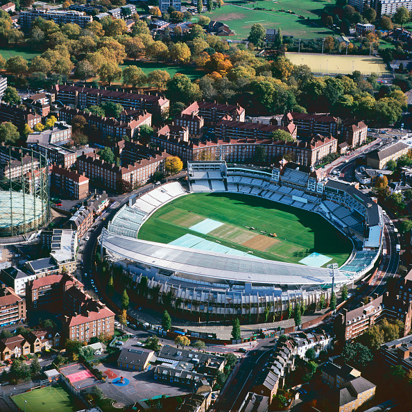 Stadium「Aerial view of the Oval Cricket Ground, London, UK」:写真・画像(9)[壁紙.com]