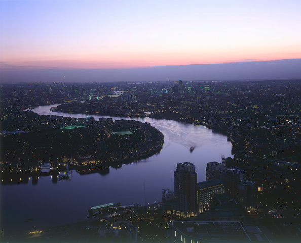 Dawn「Aerial view. London  United Kingdom.」:写真・画像(13)[壁紙.com]