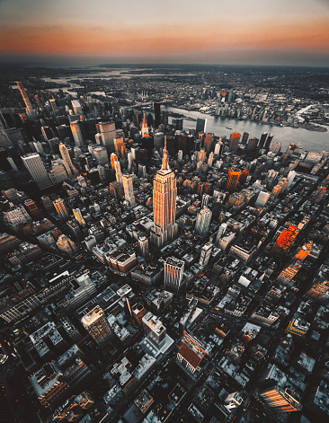 Tall - High「aerial view of new york city」:スマホ壁紙(6)