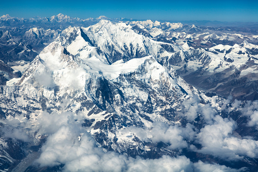 Himalayas「Aerial View of Mount Everest, Himalaya, Nepal」:スマホ壁紙(4)