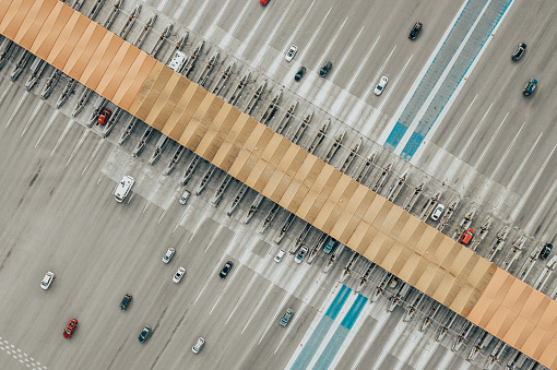 スペイン「道路の航空写真ビュー」:スマホ壁紙(18)